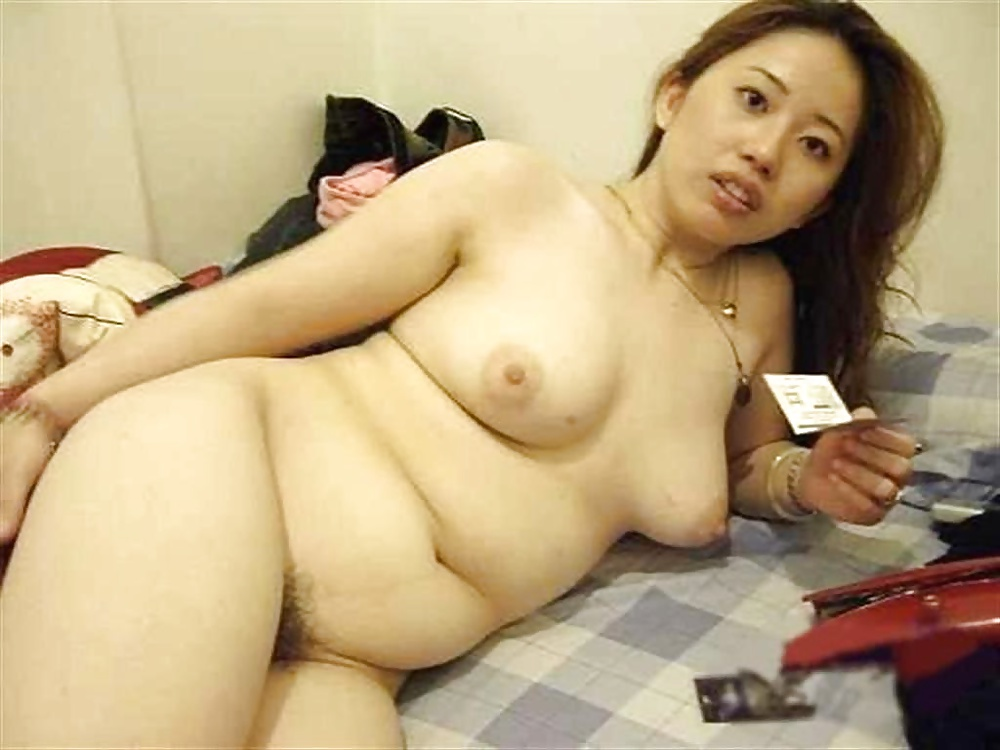 Plump asian woman nude