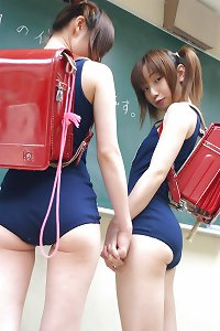 Japanese School Girls # 1